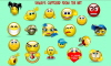 Smileys captured on the Net - flash 167kb
